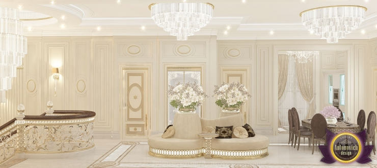 в интерьерах Luxury Antonovich Design