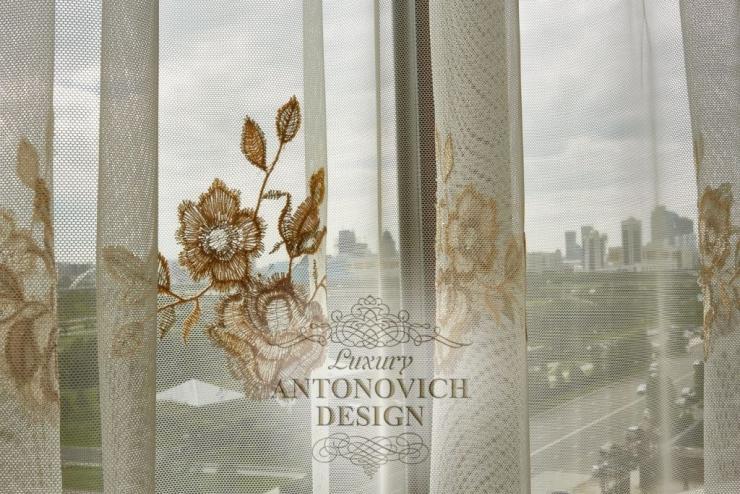 Красивые шторы, Luxury Antonovich Design, Antonovich Design, Антонович Дизайн, шторы в современном интерьере