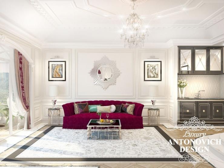 Интерьер гостиной, Luxury Antonovich Design,  Antonovich Design, Антонович Дизайн, Светлана Антонович