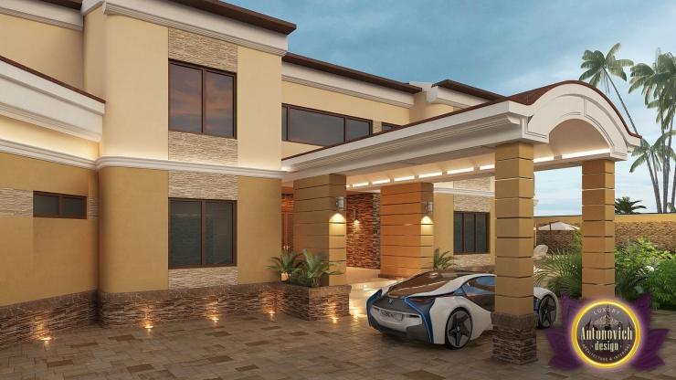 Exterior Design Villa in Niger, Luxury Antonovich Design, Katrina Antonovich