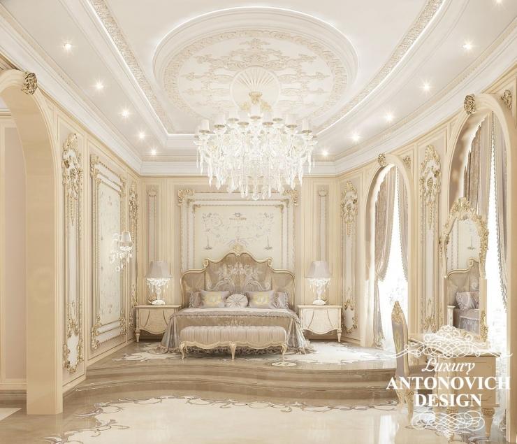 Дизайн спальни, Luxury Antonovich Design, Antonovich Design, Антонович Дизайн