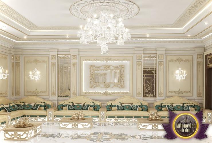 Luxury Antonovich Design, Arabic Majlis Interior Design, Katrina Antonovich