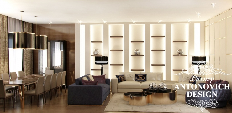 Luxury Antonovich Design, Антонович Дизайн, красивые квартиры
