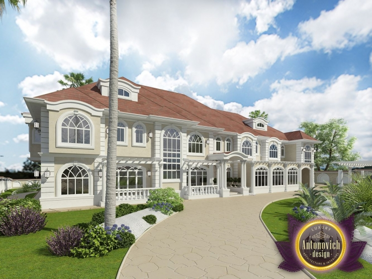 House planing  of Luxury Antonovich Design