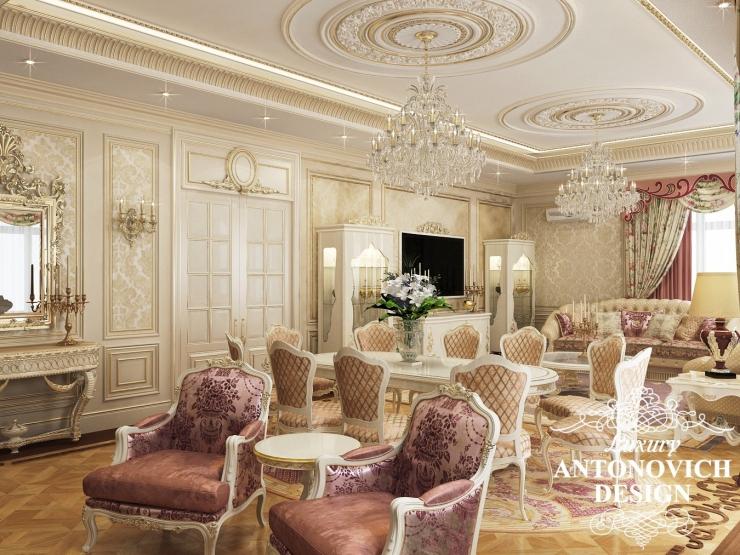 Роскошный дизайн виллы в Астане, Luxury Antonovich Design