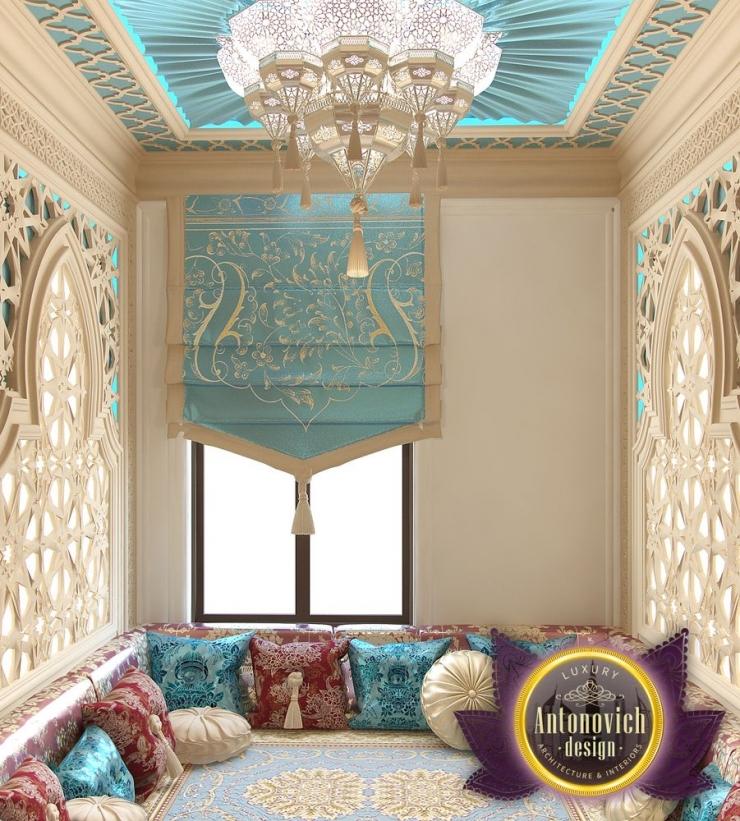 Arabic style in the interior of Luxury Antonovich Design