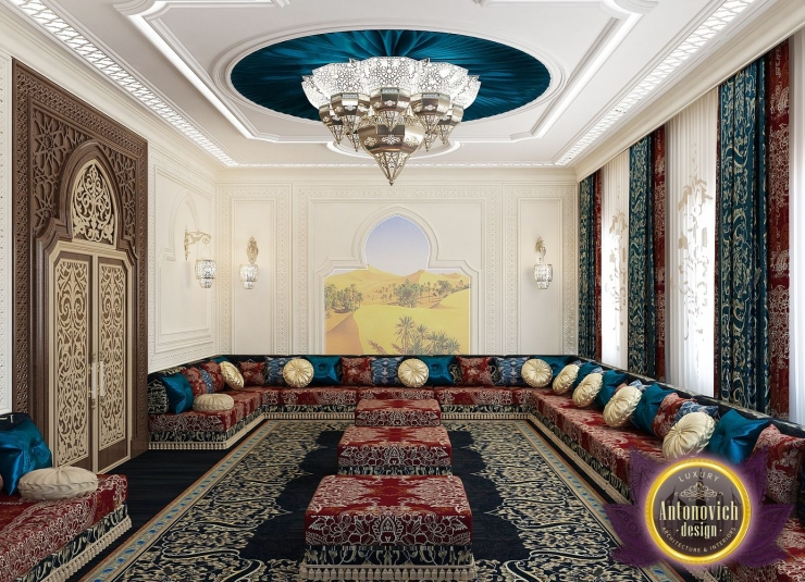 Arabic style in the interior of Luxury Antonovich Design
