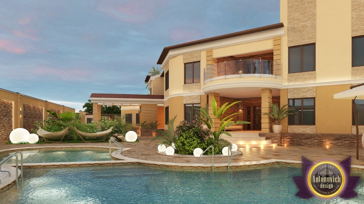Архитектурный проект виллы от Luxury Antonovich Design
