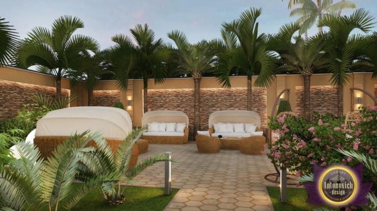 ландшафтный дизайн от Luxury Antonovich Design