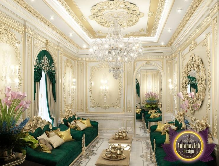 Arabic house style by Luxury Antonovich Design