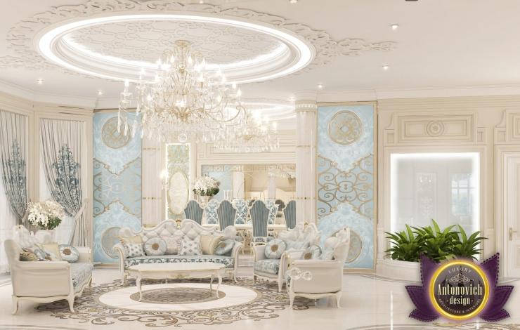 Дизайн интерьера виллы в ОАЭ