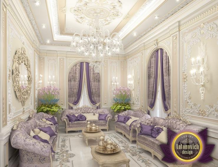 Прекрасный тандем классики и восточного стиля от Антонович Дизайн