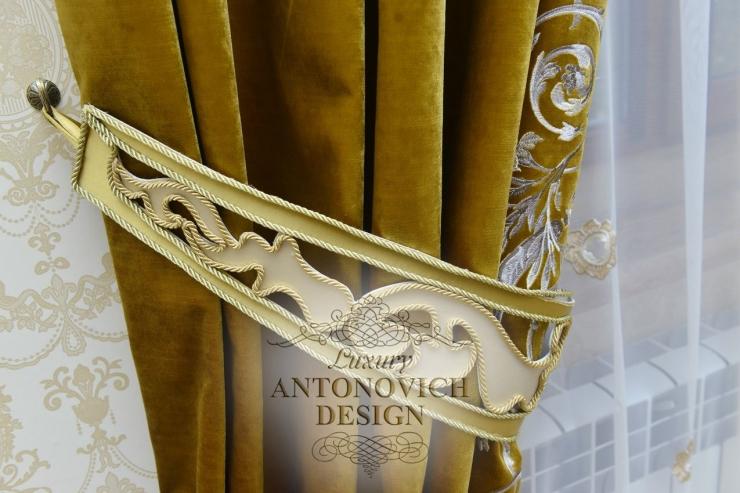 Элитные шторы от Антонович Дизайн