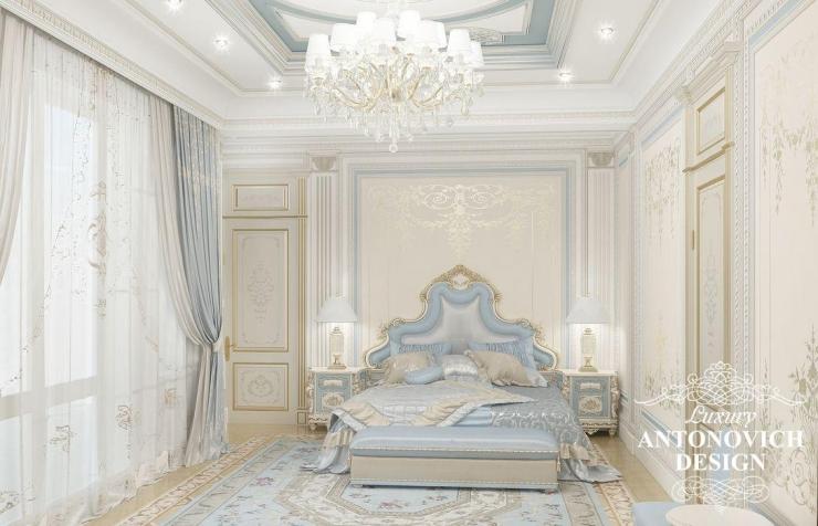 Элитный дизайн спальни от Антонович Дизайн
