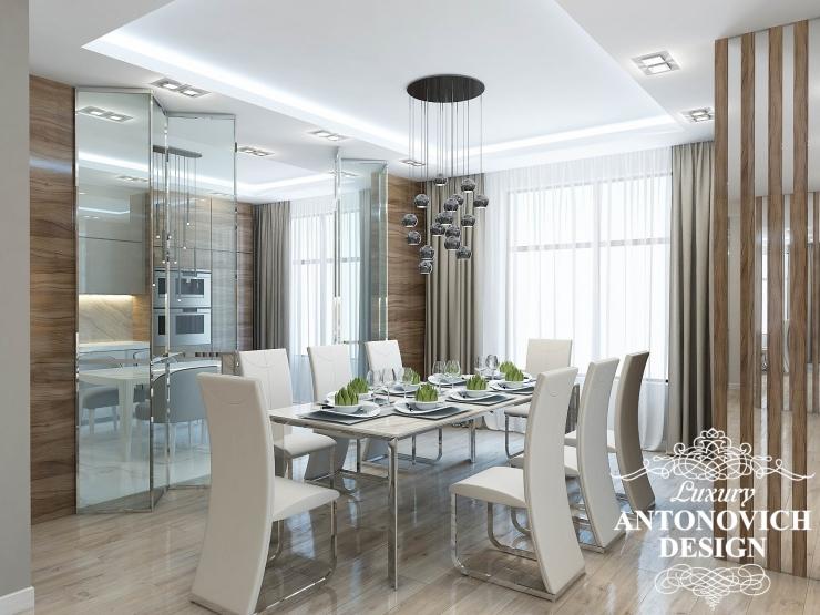 Красивый интерьер квартиры в современном стиле
