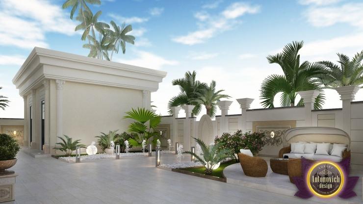 Элитный ландшафтный дизайн от Luxury Antonovich Design