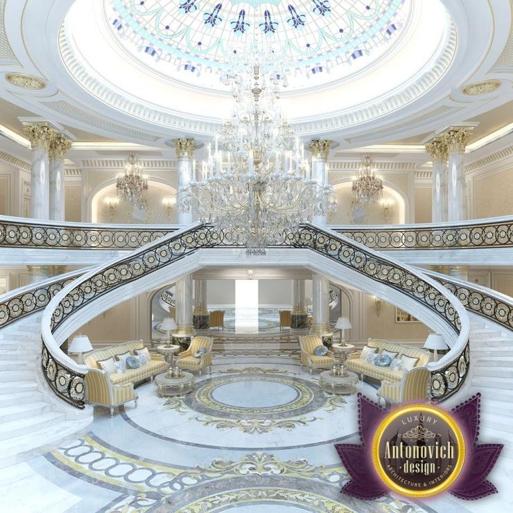 Интерьер виллы в Абу Даби от Luxury Antonovich Design
