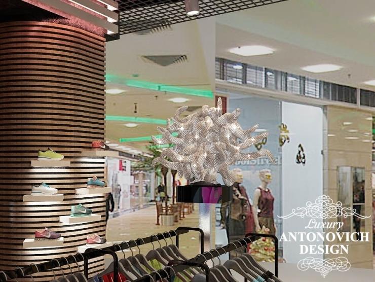 Дизайн спортивного магазина от Luxury Antonovich Design