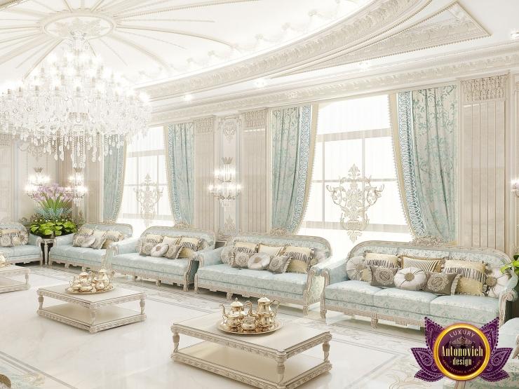 Изысканный восточный колорит в интерьере гостиной