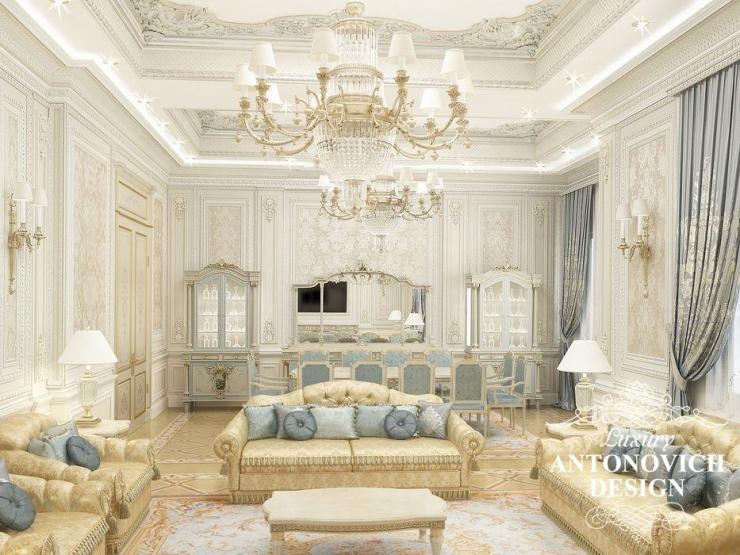 Антонович Дизайн, элитный дизайн в классическом стиле