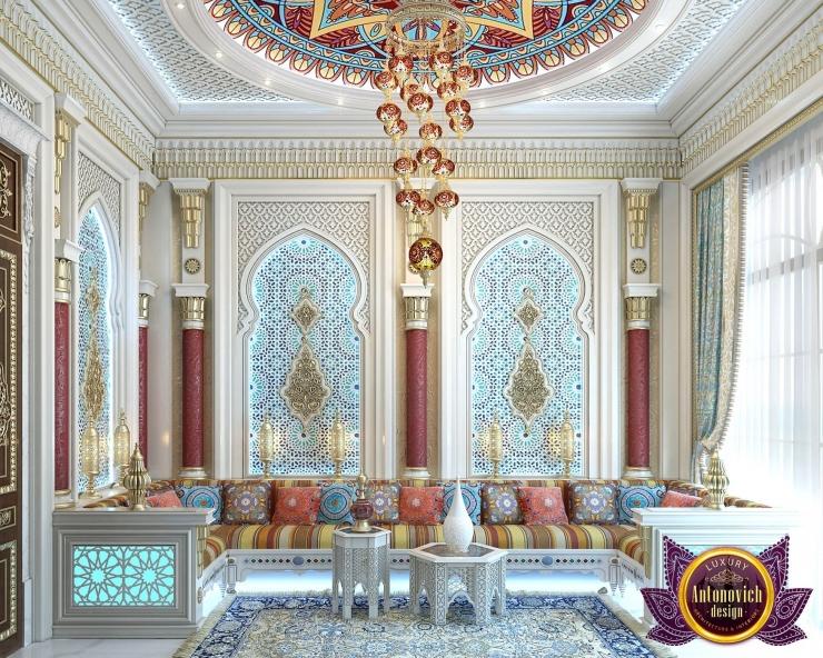 Интерьер в марокканском стиле от Антонович Дизайн
