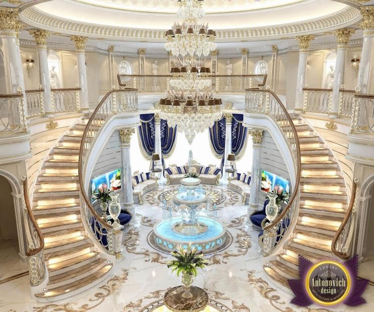 Дизайн виллы в Саудовской Аравии от Katrina Antonovich