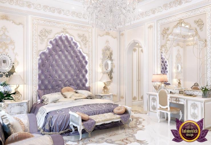 Luxury Royal Arabic Master Bedroom of Katrina Antonovich