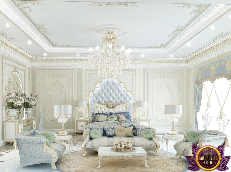 Luxury bedroom interior, Katrina Antonovich