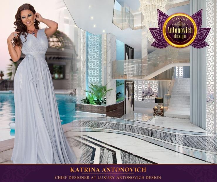 Contemporary villa design of Katrina Antonovich