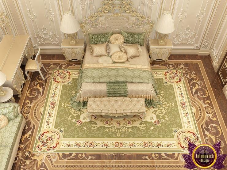 Роскошные мотивы в дизайне спальни от Katrina Antonovich