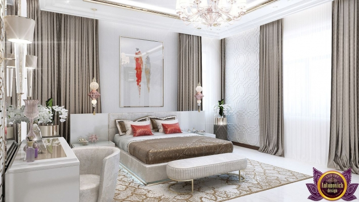 Интерьер спальни от Katrina Antonovich