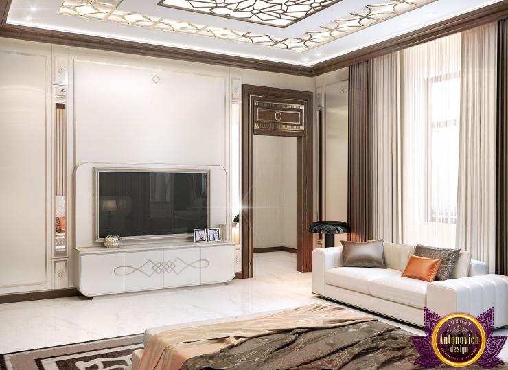 Дизайн интерьера спальни от Katrina Antonovich