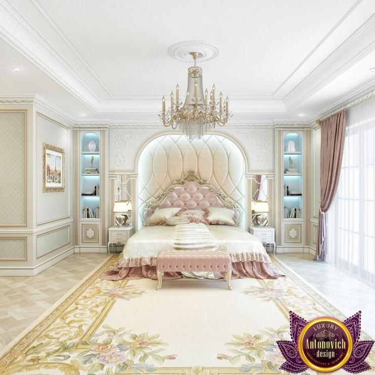 Интерьер красивой спальни от Katrina Antonovich