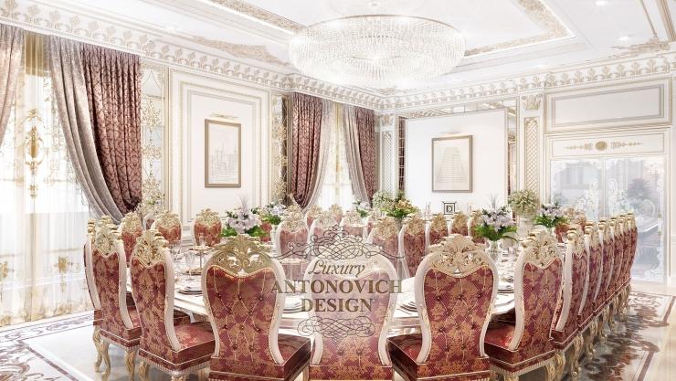 Роскошное гостеприимство в интерьере от Luxury Antonovich Design