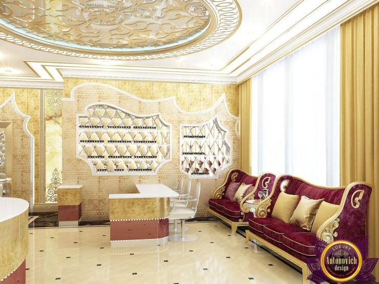 beauty salon interior design, Katrina Antonovich