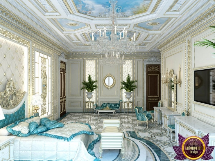 Palatial  bedroom design , Katrina Antonovich