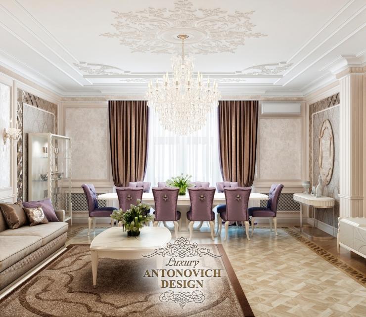 Дизайн квартиры в классическом стиле, Antonovich Design, Светлана Антонович