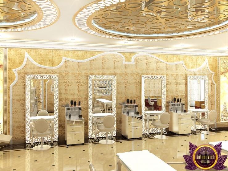 Beauty salon Design, Katrina Antonovich, Luxury Antonovich Design
