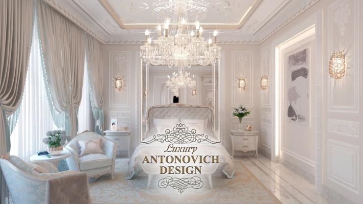 Дизайн спальни, Luxury Antonovich Design, Светлана Антонович