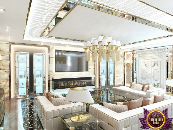 Luxury living room design ideas, Katrina Antonovich