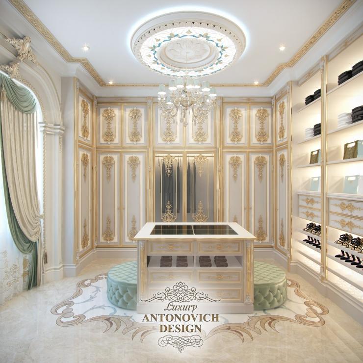 Дизайн гардеробной, Luxury Antonovich Design
