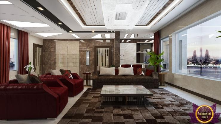 Modern Living room interior, Katrina Antonovich