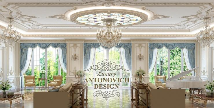 Дизайн интерьера, Светлана Антонович, дизайн гостиной