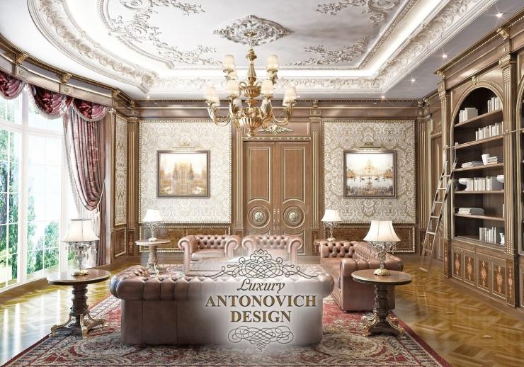 Дизайн гостиной, Антонович Дизайн, Светлана Антонович