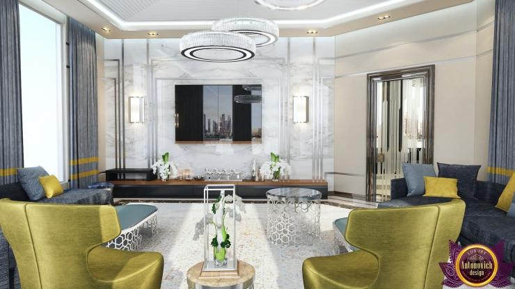 Contemporary interior, living room, Katrina Antonovich