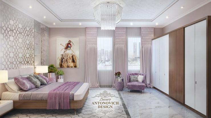 Дизайн спальни в современном стиле, Светлана Антонович, Антонович Дизайн