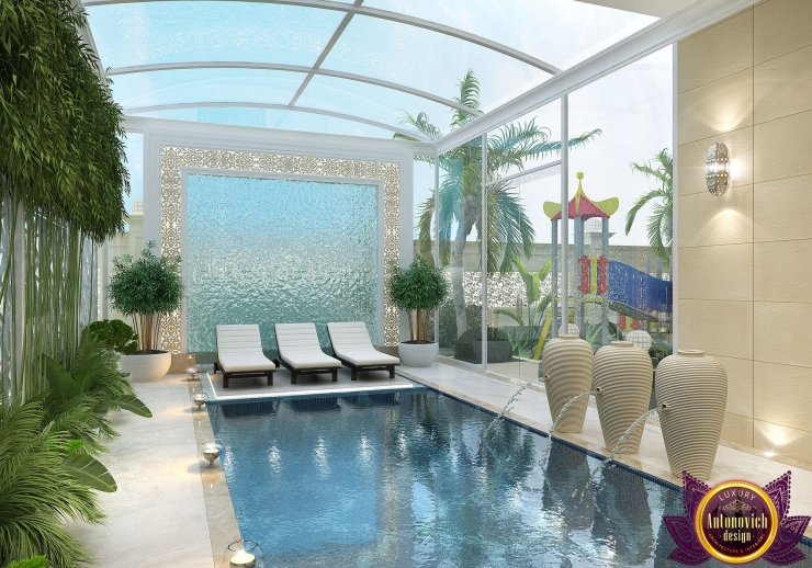 Pool design, Katrina Antonovich