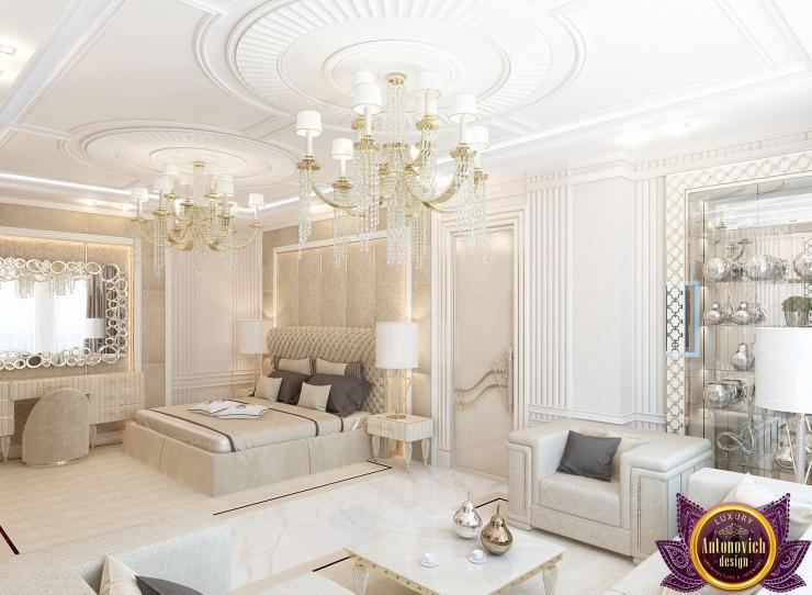 Stylish Bedroom interior design by Katrina Antonovich