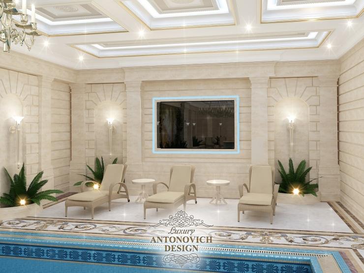Дизайн и проектирование бассейнов, Антонович дизайн