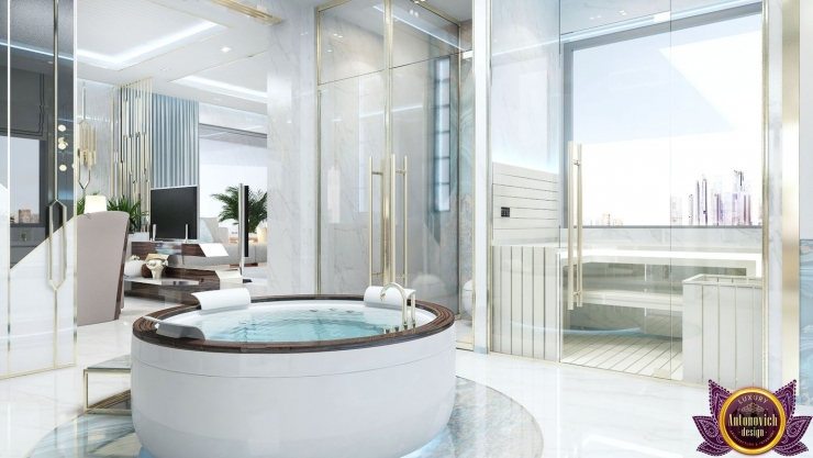 Bathroom interiors design, Katrina Antonovich